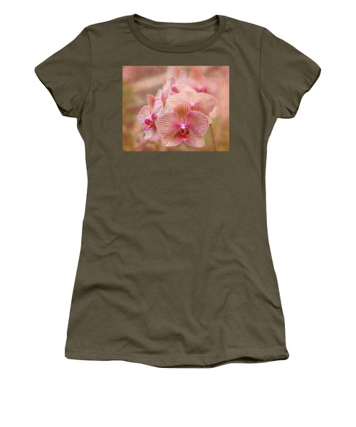 Pink Orchids Women's T-Shirt