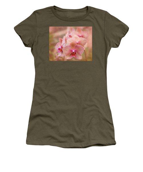 Pink Orchids Women's T-Shirt