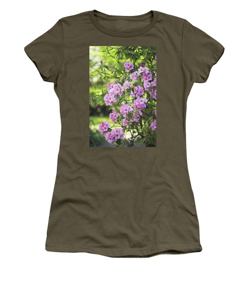 Pink Rhododendron Bloom Women's T-Shirt