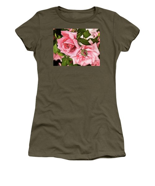Pink Serenity Women's T-Shirt (Athletic Fit)
