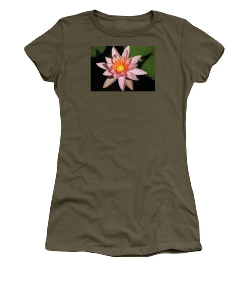 Pink Water Lily 2016 Women's T-Shirt (Junior Cut) by Suzanne Gaff