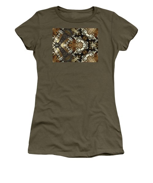Pipe Dreams Women's T-Shirt (Junior Cut) by Wendy J St Christopher