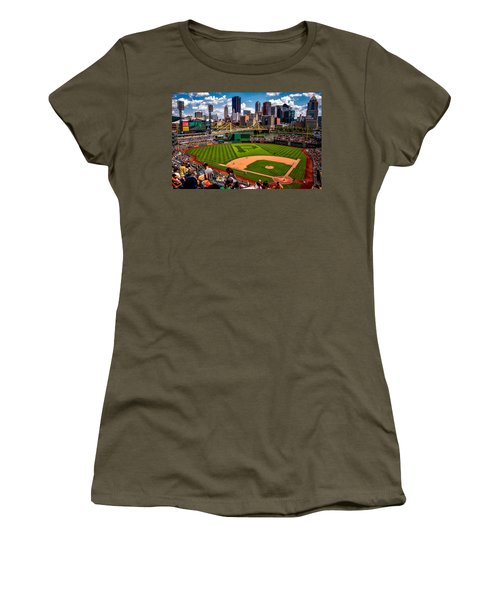 Pirates Day Game Women's T-Shirt (Athletic Fit)