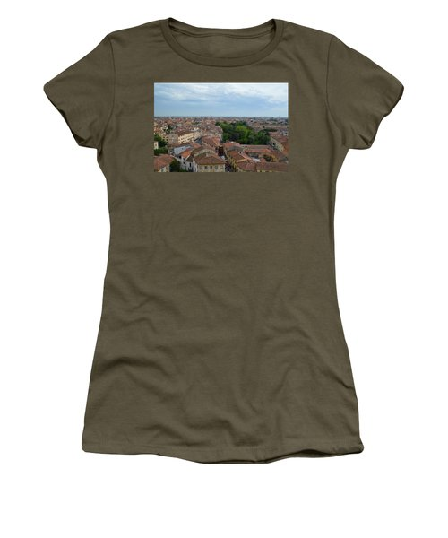 Pisa From Above Women's T-Shirt