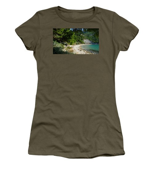 Arene Beach Of Cassis Women's T-Shirt