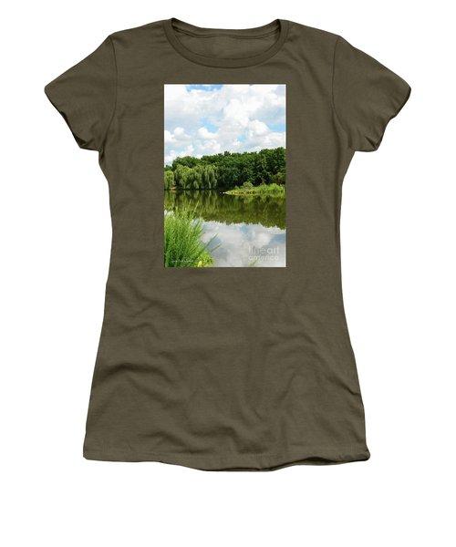 Plein Air Women's T-Shirt (Athletic Fit)