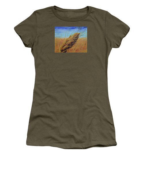 Plentiful Harvest Women's T-Shirt (Athletic Fit)