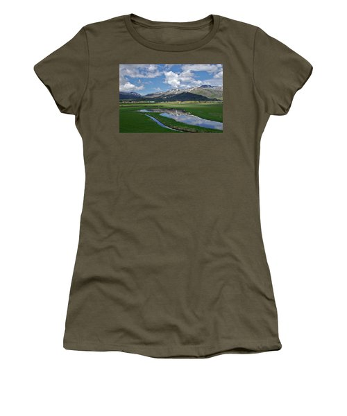 Plentiful Valley Women's T-Shirt (Athletic Fit)