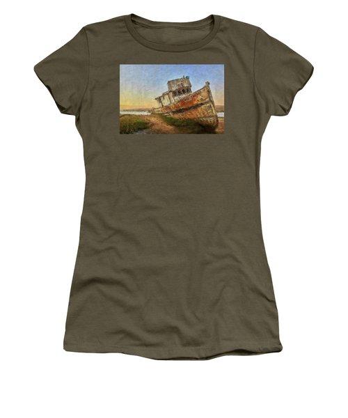 Point Reyes Boat Women's T-Shirt