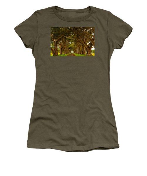 Point Reyes Cypress Tunnel Women's T-Shirt