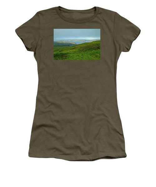 Point Reyes Overlooking Tomales Bay Women's T-Shirt (Athletic Fit)