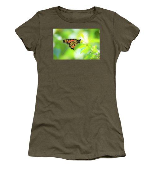 Poka Dots Women's T-Shirt (Athletic Fit)
