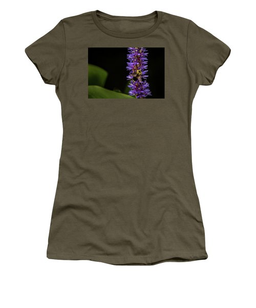 Women's T-Shirt (Junior Cut) featuring the photograph Pollen Collector 3 by Jay Stockhaus