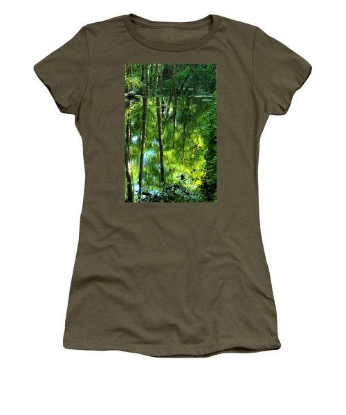Pond On Gabrielino Trail Women's T-Shirt