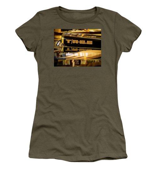 Pontiac Trans Am Women's T-Shirt (Athletic Fit)