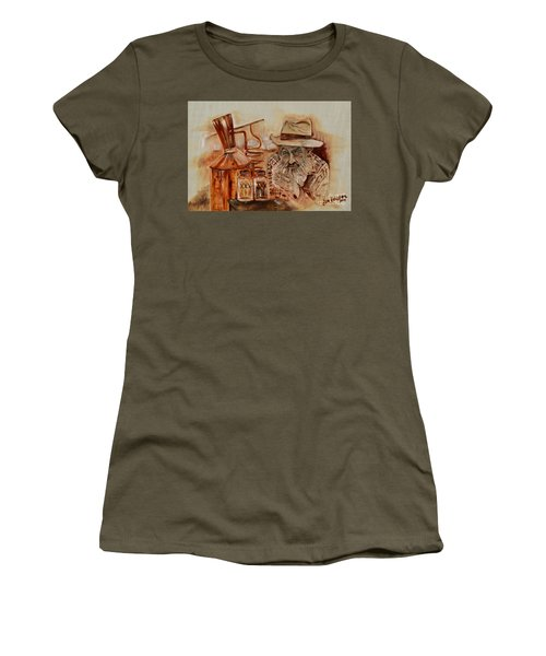 Popcorn Sutton - Waiting On Shine Women's T-Shirt