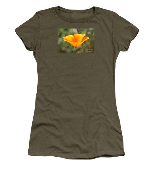 Poppy Flower Women's T-Shirt (Athletic Fit)