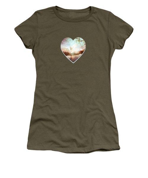 Porcelain Skies Women's T-Shirt