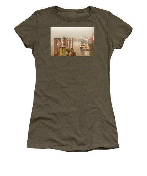 Portland Harbor Morning Women's T-Shirt