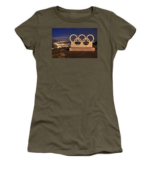 Portland Olympic Rings Women's T-Shirt
