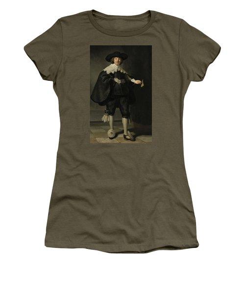 Portrait De Marten Soolmans, 1634 Women's T-Shirt