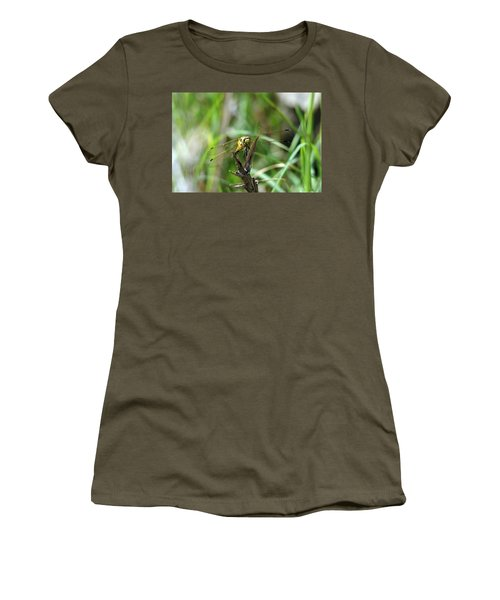 Portrait Of A Dragonfly Women's T-Shirt (Athletic Fit)