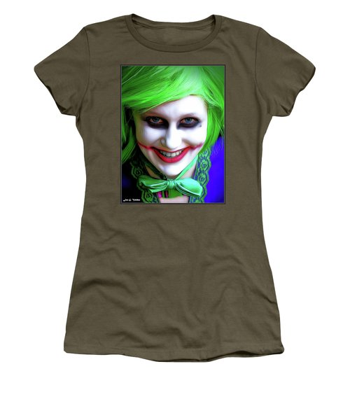 Portrait Of A Joker Women's T-Shirt (Athletic Fit)