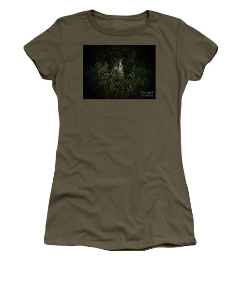 Portrait Of A Squirrel Women's T-Shirt