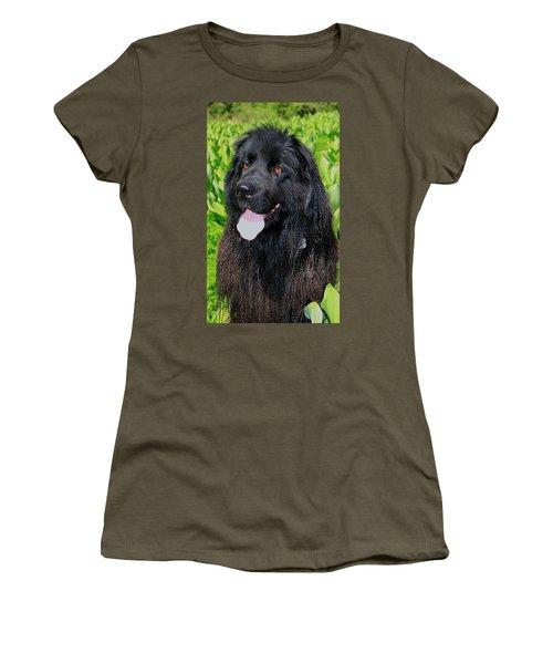 Portrait Of Sierra Women's T-Shirt (Junior Cut) by Sean Sarsfield