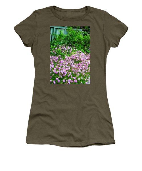 Posies By The Fence Women's T-Shirt