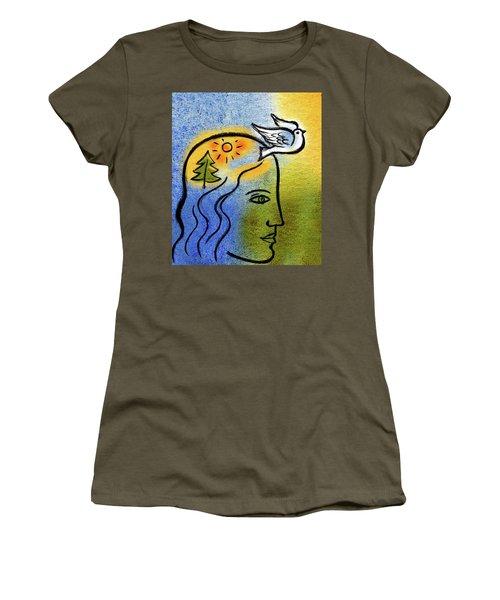 Positive Outlook Women's T-Shirt