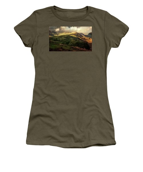 Postcard From Scotland Women's T-Shirt (Junior Cut) by Jaroslaw Blaminsky