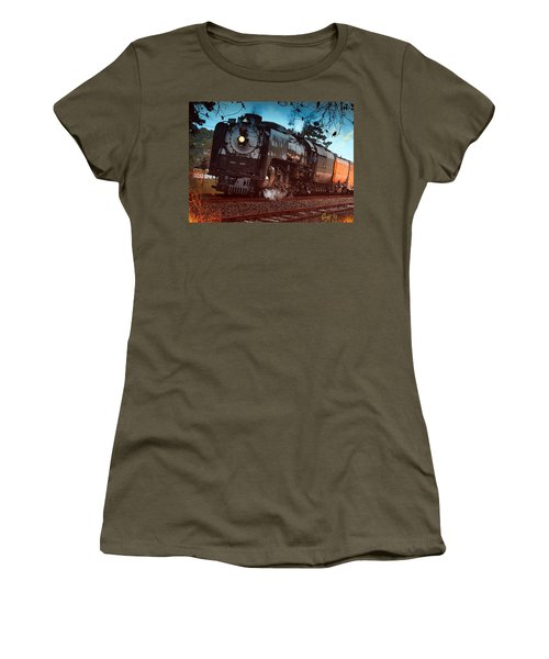 Pounding Up The Texas Grade Women's T-Shirt (Junior Cut) by J Griff Griffin