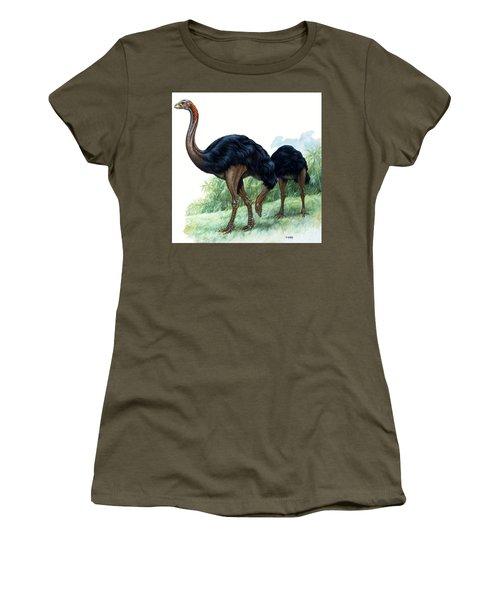Pre-historic Birds Women's T-Shirt (Athletic Fit)