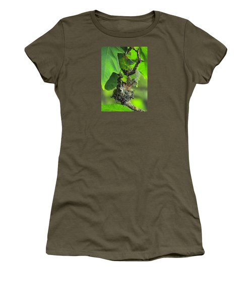Precious Nature Women's T-Shirt (Junior Cut) by I'ina Van Lawick