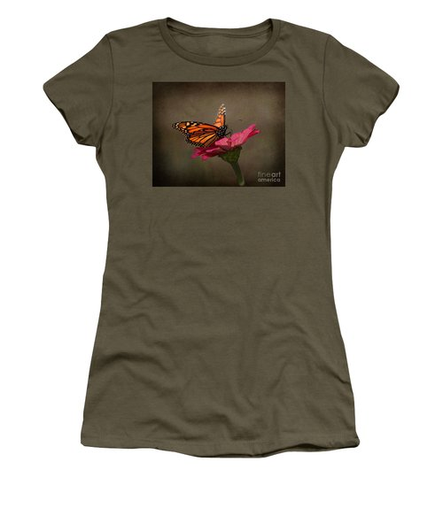 Prefect Landing - Monarch Butterfly Women's T-Shirt (Athletic Fit)