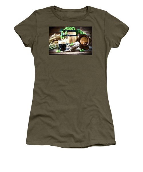 Preparing For Home Beer Brewing Women's T-Shirt