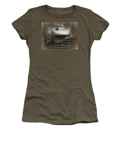 Preparing To Sail Women's T-Shirt (Athletic Fit)