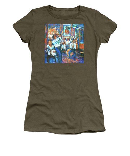 Preservation Jazz Women's T-Shirt (Junior Cut) by Dianne Parks
