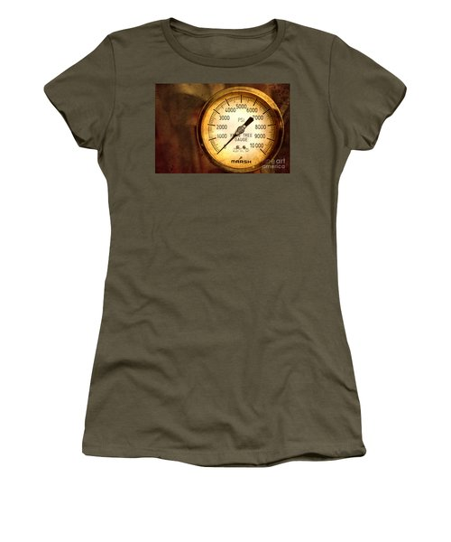 Pressure Gauge Women's T-Shirt (Athletic Fit)