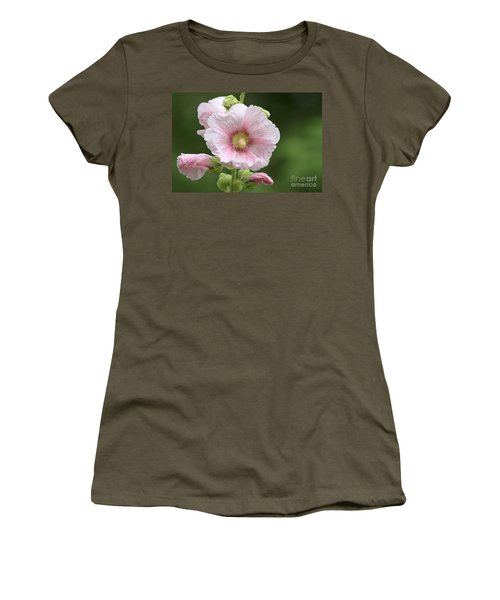 Pretty In Pink Women's T-Shirt (Junior Cut) by Teresa Zieba