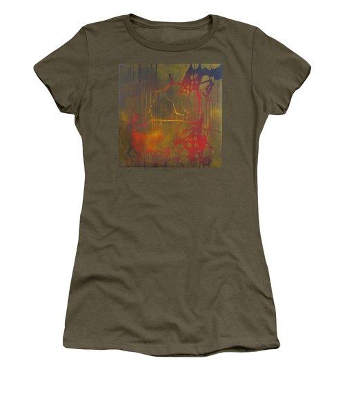 Pretty Violence On A Screen Door Women's T-Shirt
