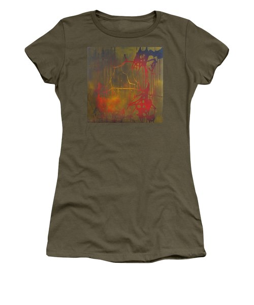Pretty Violence On A Screen Door Women's T-Shirt (Athletic Fit)