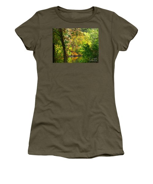 Women's T-Shirt featuring the photograph Prettyboy Of Autumn by Donald C Morgan