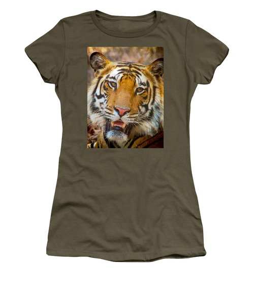Prime Tiger Women's T-Shirt (Athletic Fit)