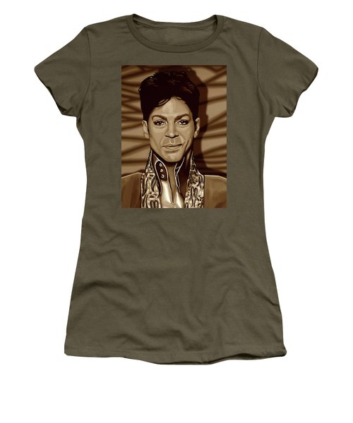 Prince 2 Gold Women's T-Shirt (Athletic Fit)