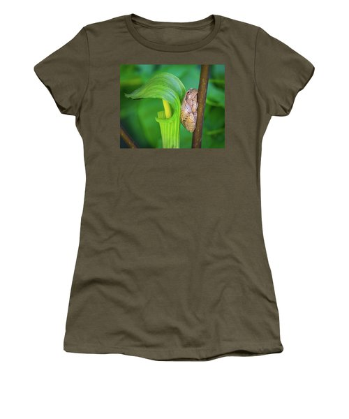 Women's T-Shirt (Athletic Fit) featuring the photograph Prince Of The Pulpit by Bill Pevlor