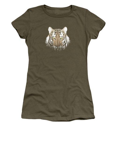 Hiding Tiger Women's T-Shirt