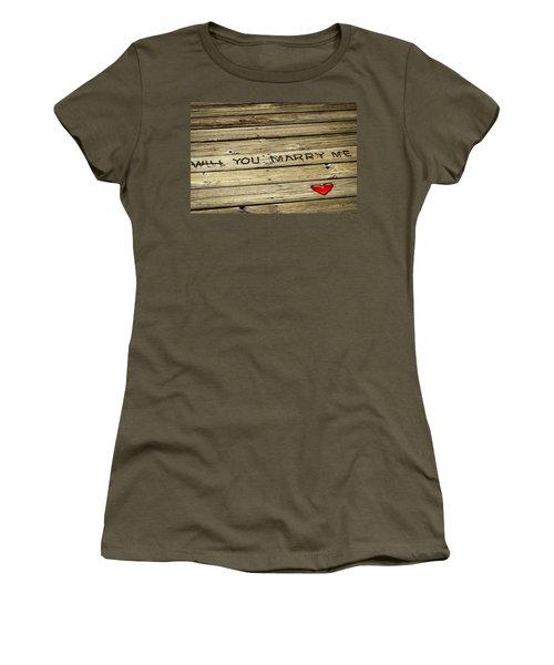 Propose To Me Women's T-Shirt
