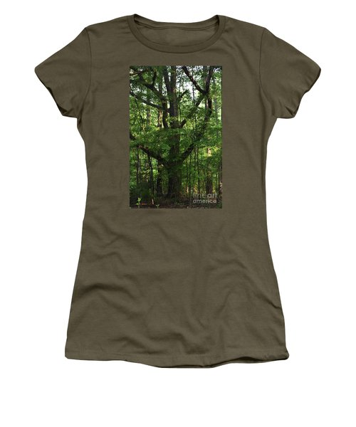 Women's T-Shirt (Junior Cut) featuring the photograph Protecting The Children by Skip Willits